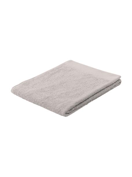 Handtuch Blend in verschiedenen Größen, aus recyceltem Baumwoll-Mix, Hellgrau, Gästehandtuch