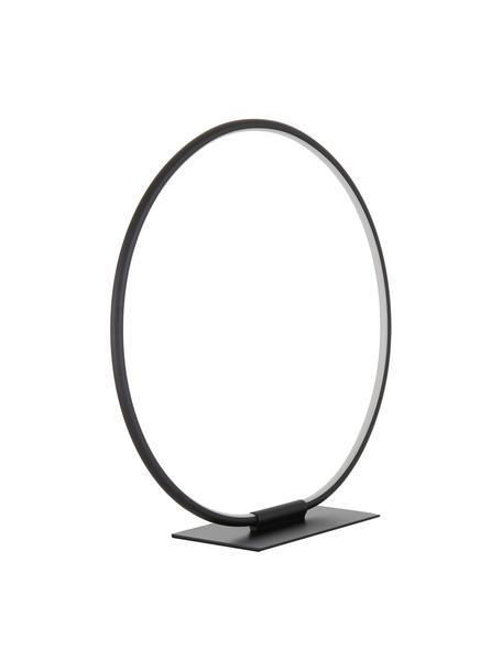 Lampa stołowa LED Harris, Osłona mocowania sufitowego: czarny, matowy Klosz: czarny, matowy Kabel: czarny, Ø 43 x W 44 cm
