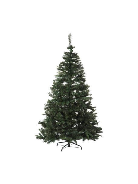Árbol de Navidad artificial, Estructura de hierro Ramas de PVC, Verde, L 180 cm
