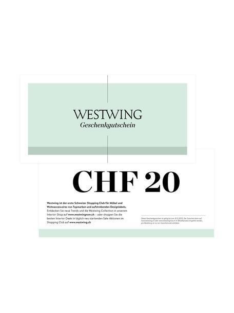 Gutscheinkarte, Gutschein auf edlem Papier, in hochwertigem Kuvert, Weiss, 20