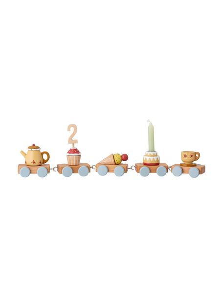 Decoratief object Birthday, Hout, Multicolour, 39 x 7 cm