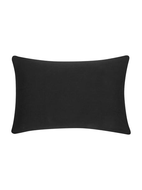 Poszewka na poduszkę z bawełny Mads, 100% bawełna, Czarny, S 30 x D 50 cm