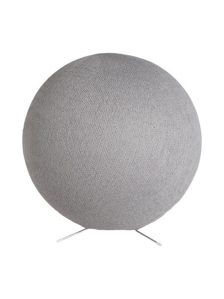 Lámpara de mesa Colorain, Pantalla: poliéster, Cable: plástico, Gris, Ø 36 cm