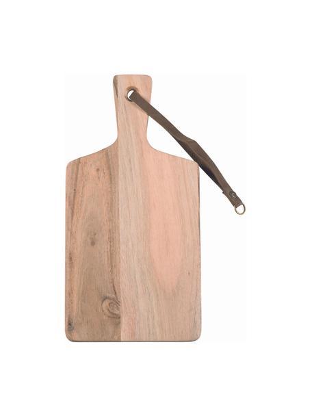 Tagliere in legno di acacia con cinturino Acacia, Legno di acacia, Larg. 30 x Prof. 15 cm