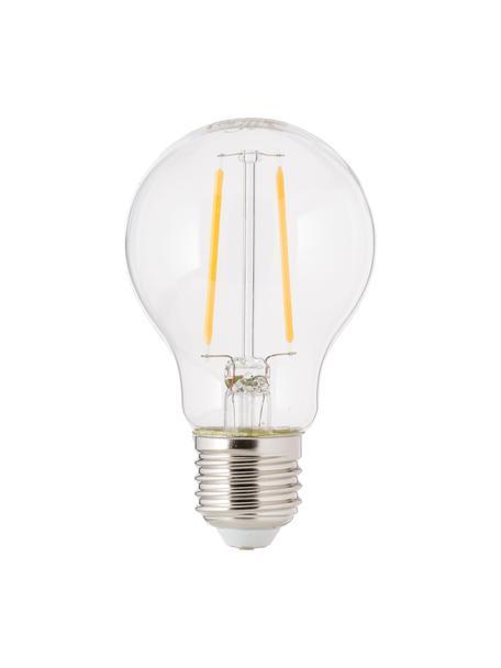 LED Leuchtmittel Humiel (E27/4.6W), 6 Stück, Leuchtmittelschirm: Glas, Leuchtmittelfassung: Aluminium, Transparent, Ø 8 x H 10 cm