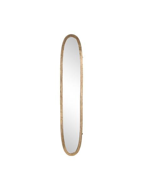 Espejo de pared Miro, Dorado envejecido, An 35 x Al 180 cm