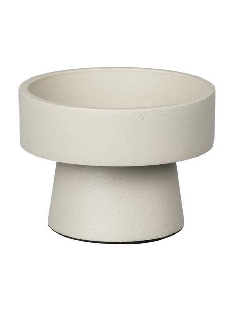 Candelabro Anker, Alluminio rivestito, Beige, Ø 8 x Alt. 6 cm