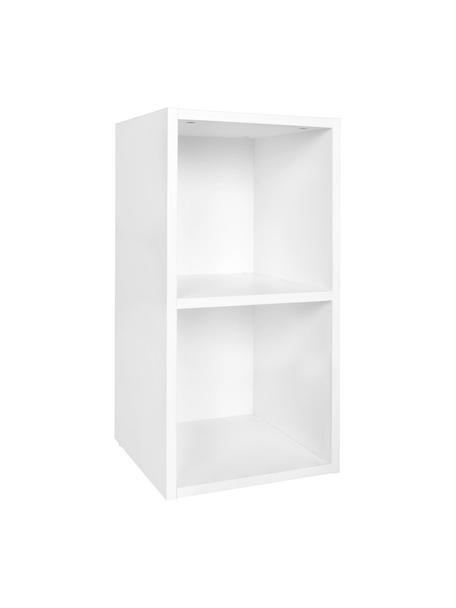 Libreria in bianco opaco Milo, Truciolato, melaminico, Bianco, Larg. 30 x Prof. 60 cm