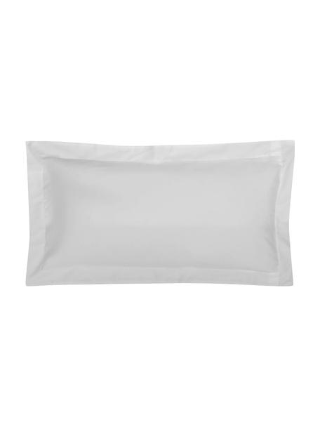 Funda de almohada de satén Premium, Gris claro, An 45 x L 85 cm
