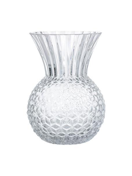 Glas-Vase Clear, Glas, Transparent, Ø 13 cm