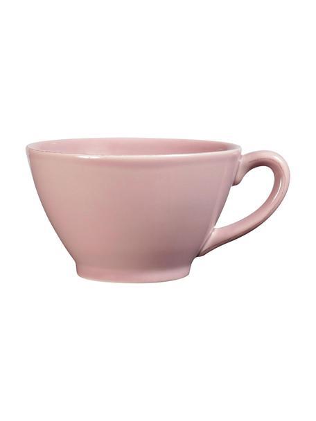 Tazza da te in rosa Constance, Terracotta, Rosa, Ø 18 x Alt. 9 cm