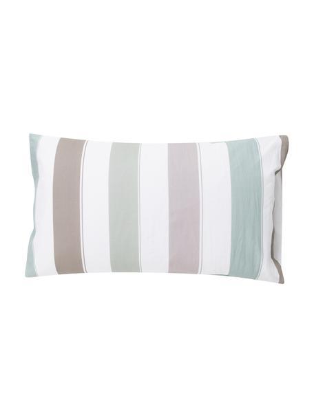 Fundas de almohada Hades, 2uds., Algodón, Blanco, menta, verde oliva, rosa, azul turquesa, An 50 x L 80 cm