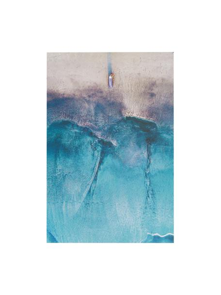 Stampa digitale su alluminio Ocean, Multicolore, L 60 x A 90 cm