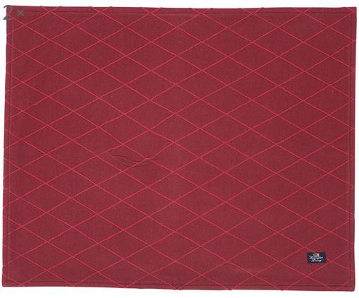 Tovaglietta Elves, 2 pz., Rosso, P 40 x L 50 cm