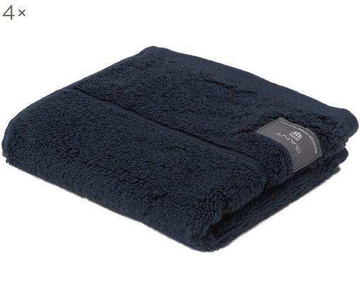 Asciugamano per ospiti XS Premium Terry, 4 pz., Blu scuro