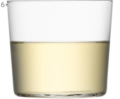 Verres à eau en verre fin Gio, 6pièces, Transparent