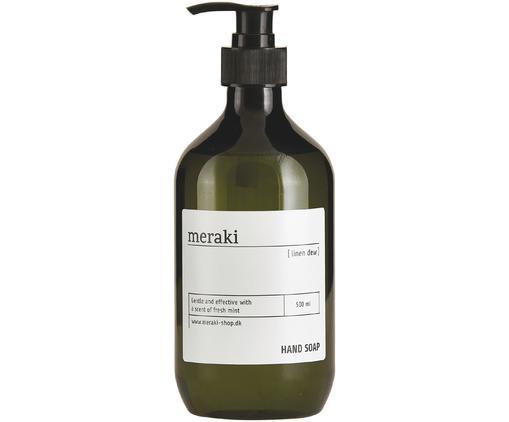 Savon liquide pour les mains Linen Dew (bois & menthe), Vert olive