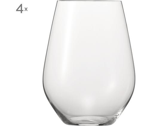 Szklanka XL Authentis, 4 szt., Transparentny