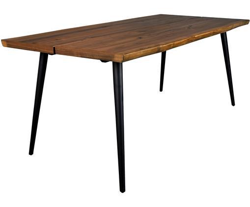 Jídelní stůl snepravidelnými hranami Alagon, Ořech