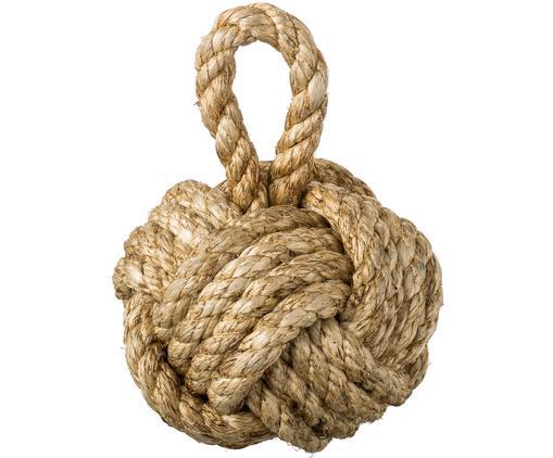 Türstopper Knot, Jute, Braun, Ø 25 cm