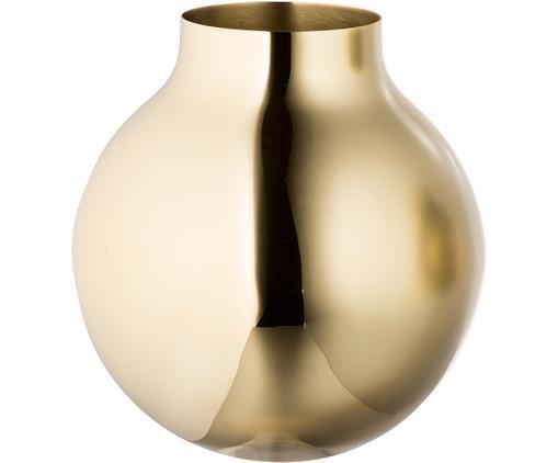 Design-Vase Boule aus Messing, Messing, Messing, Ø 20 x H 21 cm