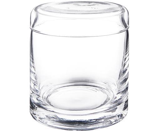 Opbergpot Clarence, Glas, Transparant, Ø 10 x H 12 cm