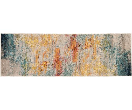 Passatoia fantasia in polipropilene Celestial, Vello: polipropilene, Retro: iuta, Multicolore, Larg. 60 x Lung. 183 cm