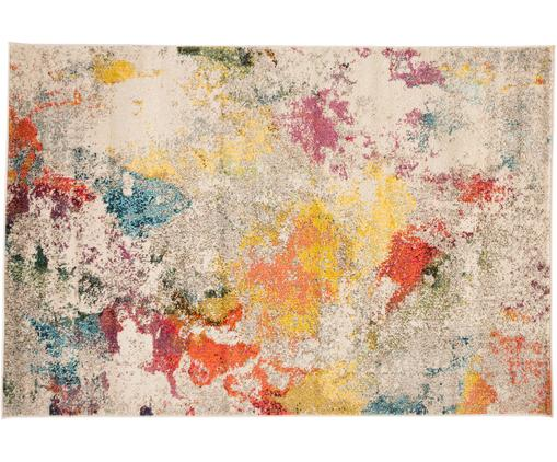 Tappeto di design colorato Celestial, Vello: polypropylene, Retro: juta, Multicolore, Larg. 120 x Lung. 180 cm (taglia S)
