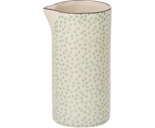 Dzbanek do mleka Patrizia, Kamionka, Zielony, kremowy, fioletowy, Ø 6 x 12 cm