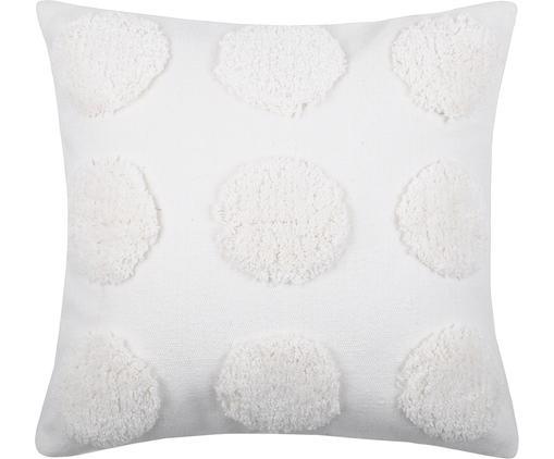 Poduszka z wypełnieniem Sudda, Bawełna, Biały, S 40 x D 40 cm