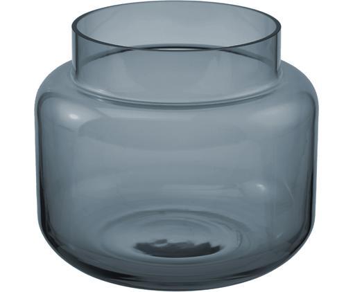 Vaas Lasse, Glas, Blauw, transparant, Ø 16 x H 14 cm