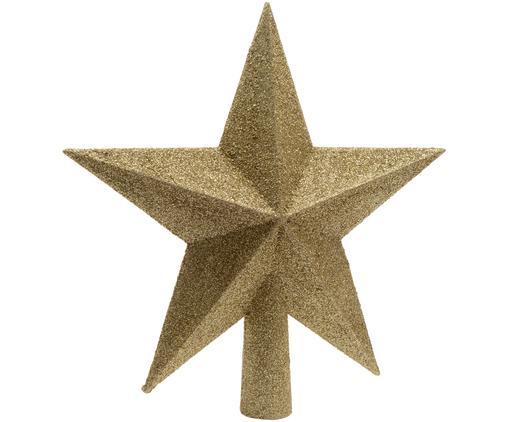Weihnachtsbaumspitze Morning Star, Kunststoff, Goldfarben, Ø 19 cm