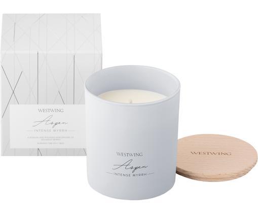 Bougie parfumée Aspen (myrrhe), Gris clair