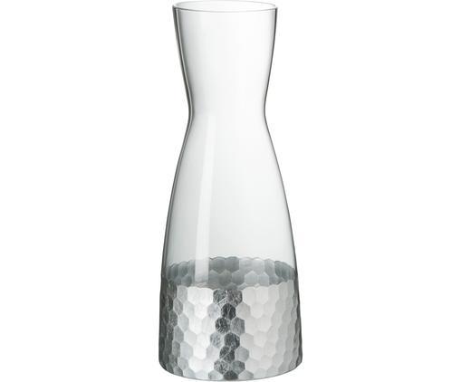 Caraffa Wasp, Vetro, Trasparente, argento-grigio, 1.15 L