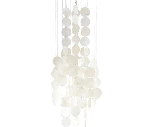Suspension en coquillages Wallin, Blanc