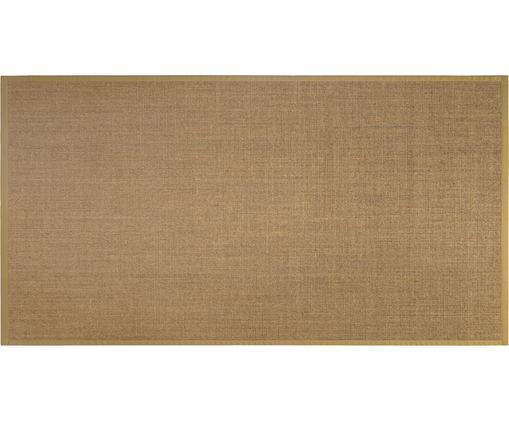 Dywan z sizalu Leonie, Włókno sizalowe, Beżowy, S 80 x D 150 cm (Rozmiar XS)