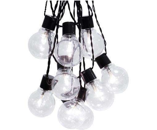 LED Lichterkette Partaj, 950 cm, Schwarz, L 950 cm