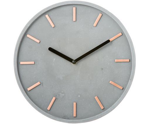 Zegar ścienny Gela, Szary, Ø 28 cm