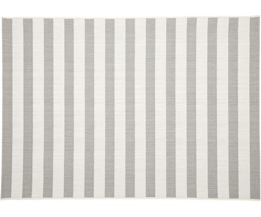 Tapis d'extérieur gris blanc Axa, Blanc crème, gris