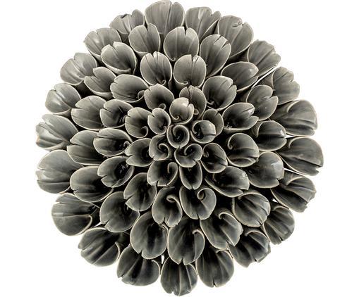 Oggetto decorativo fatto a mano Begonia, Grigio