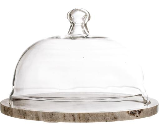 Cloche à fromage Cheese, Beige, transparent