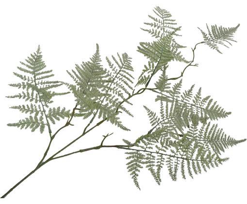 Kunstblume Farn, Polyester, Metall, Grün, L 89 cm