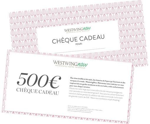 Chèque cadeau 500€, Blanc