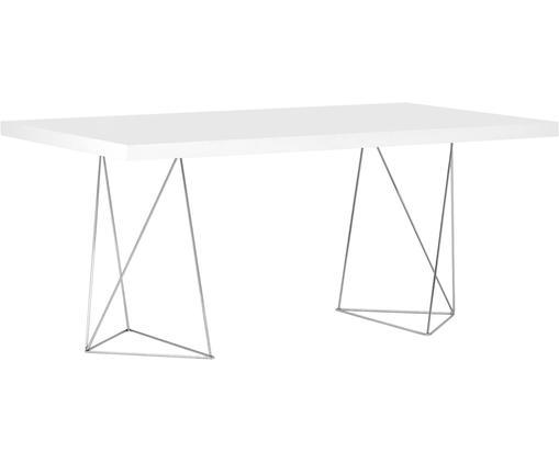 Tavolo da pranzo Max, Bianco opaco