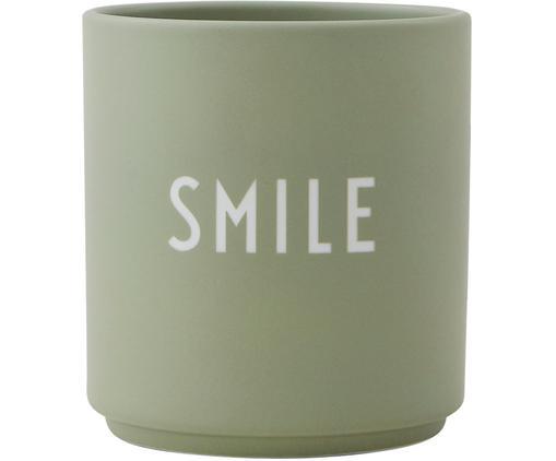 Mug Favourite, Vert, blanc