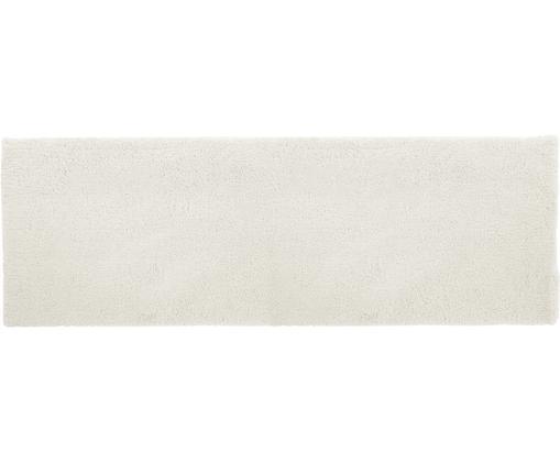 Flauschiger Hochflor-Läufer Leighton in Creme, Flor: 100% Polyester (Mikrofase, Creme, 80 x 250 cm