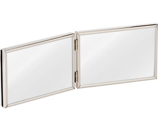 Bilderrahmen Carla, Rahmen: Metall, lackiert, Front: Glas, Rahmen: Silberfarben<br>Front: Transparent, 15 x 10 cm