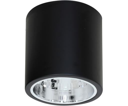 Deckenspot Downlight in Schwarz, Nickel, lackiert, Schwarz, Ø 17 x H 18 cm