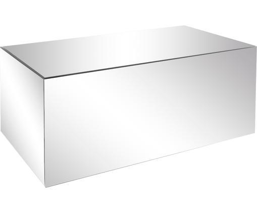 Stolik kawowy z lustrzaną powierzchnią Luxury, Korpus: płyta pilśniowa średniej , Szkło lustrzane, S 90 x G 50 cm