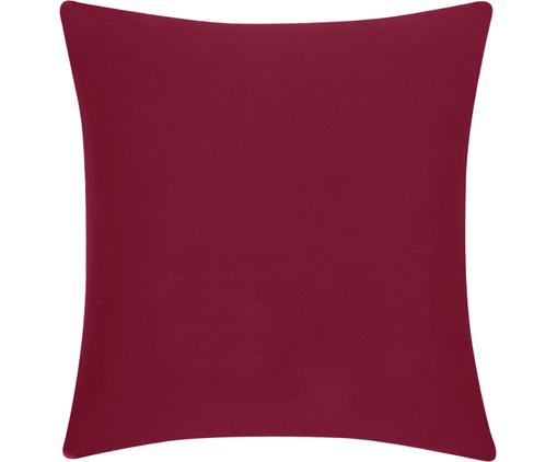 Federa arredo in rosso Mads, Cotone, Rosso, Larg. 40 x Lung. 40 cm